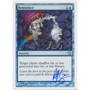 Reminisce Signed by Ralph Horsley
