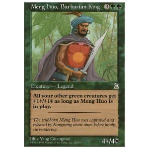 Meng Huo, Barbarian King