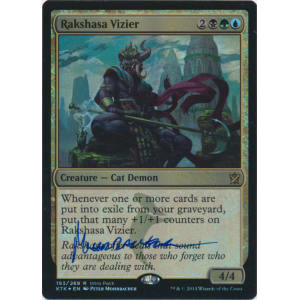 Rakshasa Vizier PROMO Signed by Peter Mohrbacher