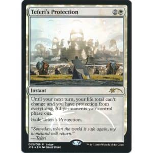 Magic the Gathering MTG Teferi/'s Protection JUDGE Foil Promo NM