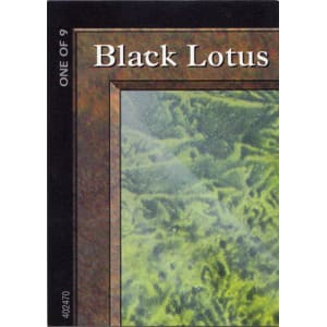 Black Lotus - Ultra Pro Puzzle - One of 9