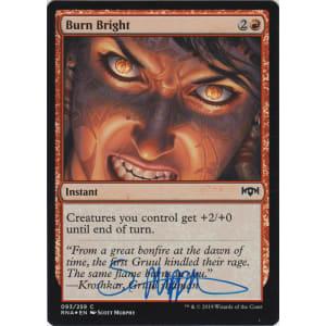 Burn Bright FOIL Signed by Scott Murphy