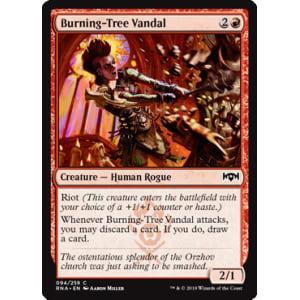 Burning-Tree Vandal