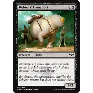 Debtors' Transport