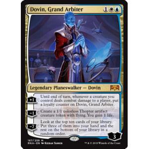 Dovin, Grand Arbiter