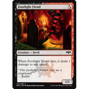 Footlight Fiend