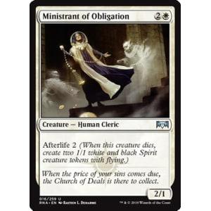 Ministrant of Obligation