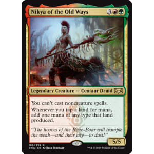 Nikya of the Old Ways