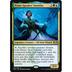 Prime Speaker Vannifar