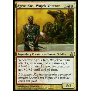 Agrus Kos, Wojek Veteran
