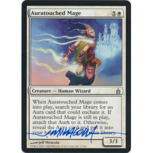 Auratouched Mage Signed by Jeff Miracola (Ravnica City of Guilds)
