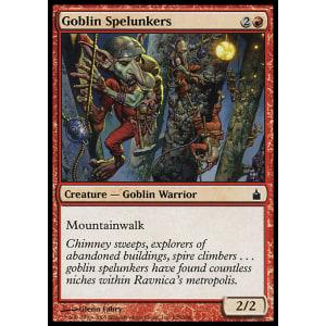 Goblin Spelunkers Foil Ravnica MTG City of Guilds