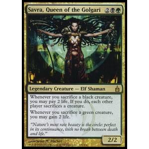 Savra, Queen of the Golgari