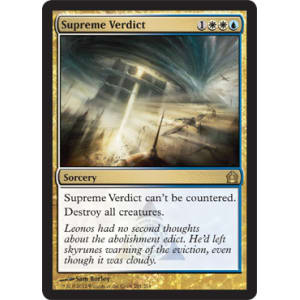 Supreme Verdict