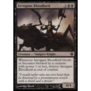 Arrogant Bloodlord