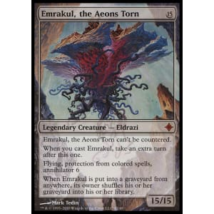 MTG *FOIL* Emrakul the Aeons Torn Prerelease promo card