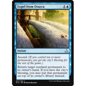 Expel from Orazca