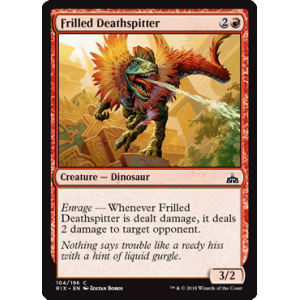 Frilled Deathspitter
