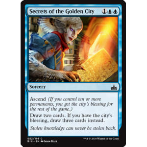 Secrets of the Golden City