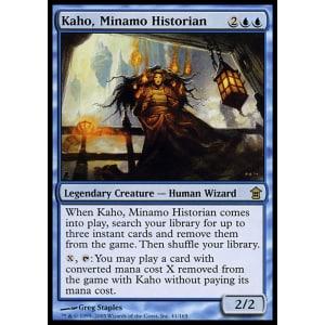 Kaho, Minamo Historian