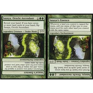 Sasaya, Orochi Ascendant / Sasaya's Essence