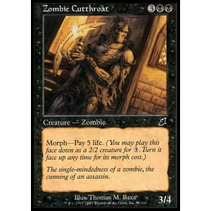 Zombie Cutthroat