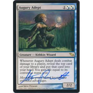 Augury Adept Signed by Steve Prescott