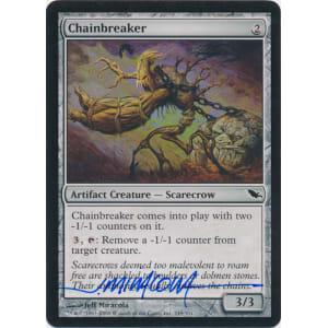 Chainbreaker Signed by Jeff Miracola (Shadowmoor)