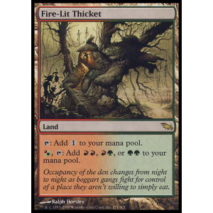 Fire-Lit Thicket