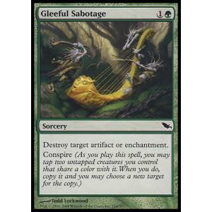 Gleeful Sabotage