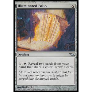 Illuminated Folio