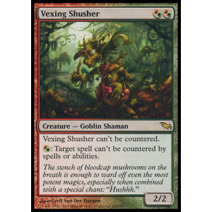Vexing Shusher