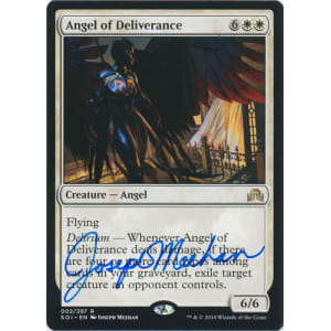 Angel of Deliverance Signed by Joseph Meehan