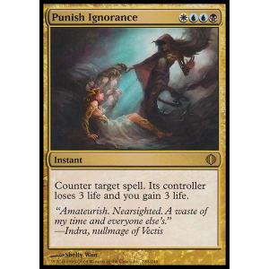 Punish Ignorance