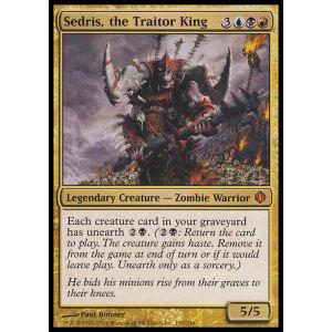 Sedris, the Traitor King