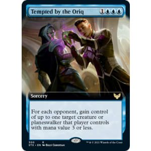 Tempted by the Oriq