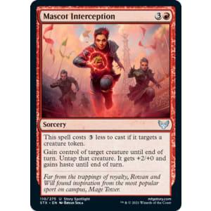 Mascot Interception