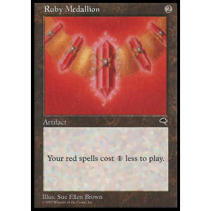 Ruby Medallion