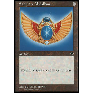 Sapphire Medallion