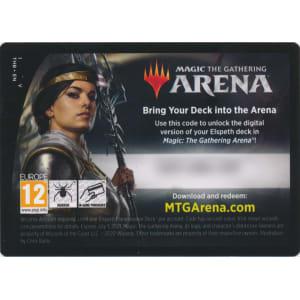 MTG Arena Code Card - Elspeth Planeswalker Deck