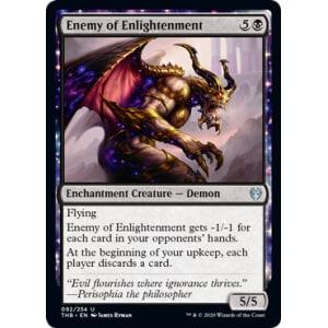 1X NM Foil Hateful Eidolon Theros Beyond Death MTG Magic the Gathering