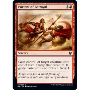 Portent of Betrayal