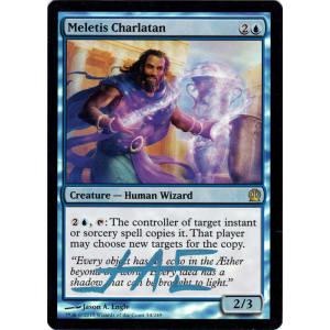 Meletis Charlatan FOIL Signed by Jason Engle