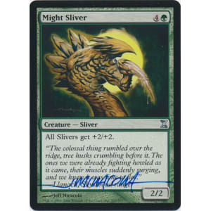 Might Sliver Signed by Jeff Miracola (Time Spiral)