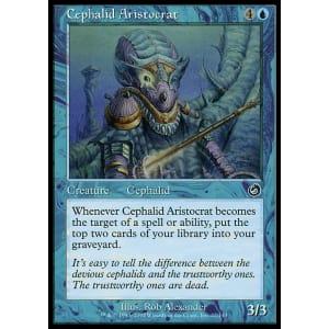 Foil Magic Torment Cephalid Aristocrat MTG