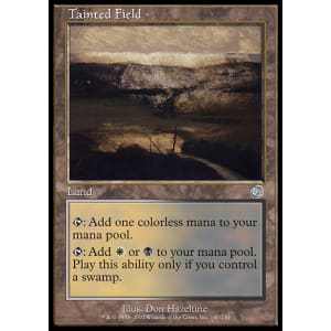 Tainted Field