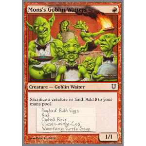 Mons's Goblin Waiters