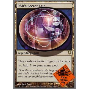 R/&D/'s Secret Lair Unhinged