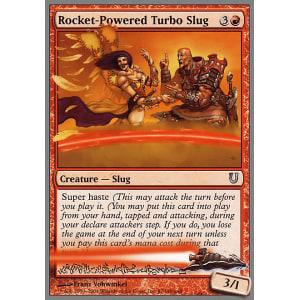Rocket-Powered Turbo Slug