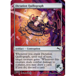 Dictation Quillograph